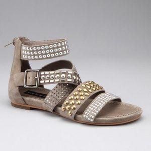 NWOT Steve Madden Beyza Suede Gladiator Sandals